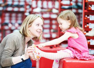 Zakup odpowiedniego obuwia dla dziecka